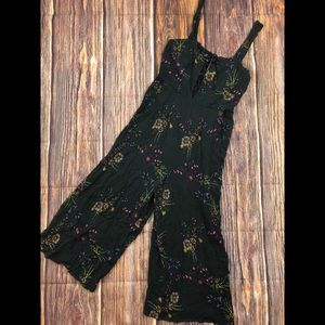 Flynn Skye M Floral lace up romper